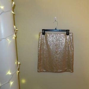F21!! Sequins skirt